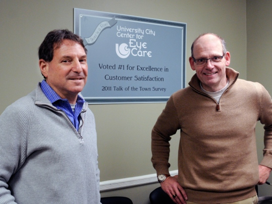 Voted #1 for Excellence in Customer Satisfaction with Dr. Ira Zeitlin and Dr. Andrew Pritchard